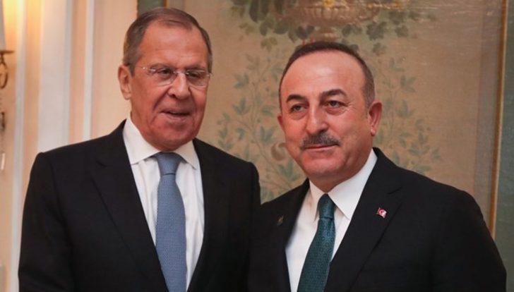 Son dakika! Çavuşoğlu Lavrov'la görüştü