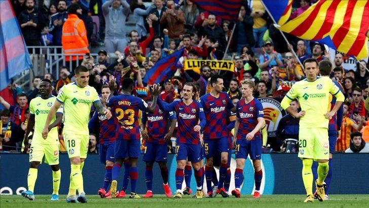 ÖZET | Barcelona - Getafe maç sonucu: 2-1