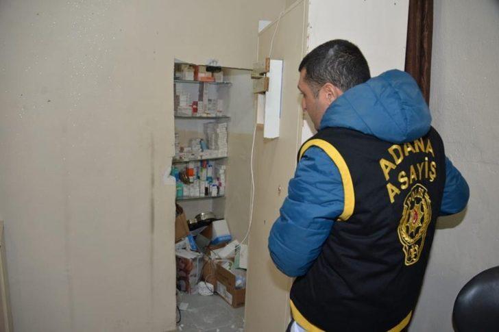 Adana'da gizli bölmeli kaçak hastane! Sahte doktorlar gözaltına alındı