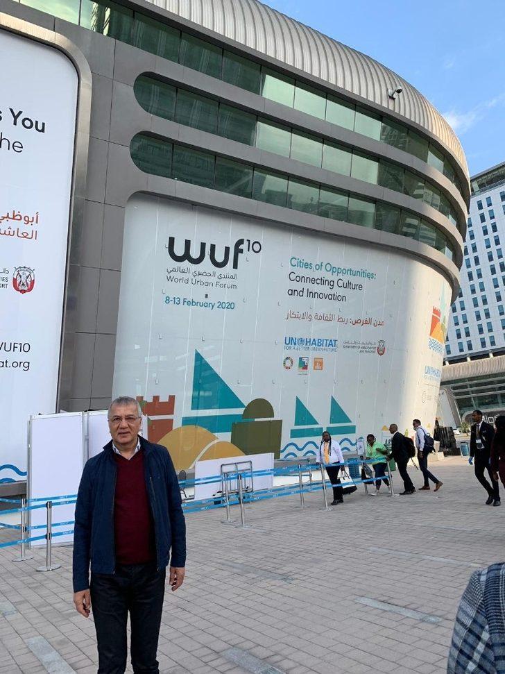 Başkan Tarhan, Abu Dhabi'de Dünya Kentsel Forumu'na katıldı
