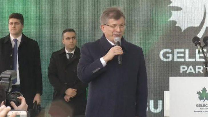 Gelecek Partisi Genel Başkanı Ahmet Davutoğlu'ndan İstanbul İl Başkanlığı açılışında önemli açıklamalar