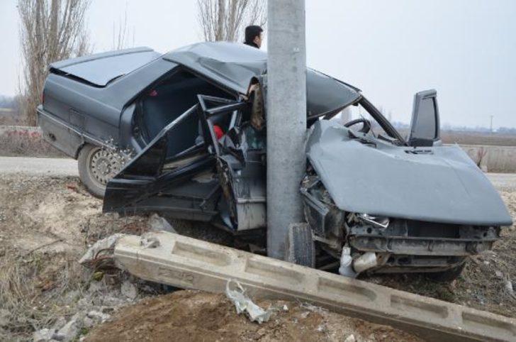 Konya'nın Ereğli ilçesinde feci kaza! Bu araçtan sağ çıktı