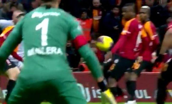 Galatasaray - Malatyaspor maçında penaltı tartışması