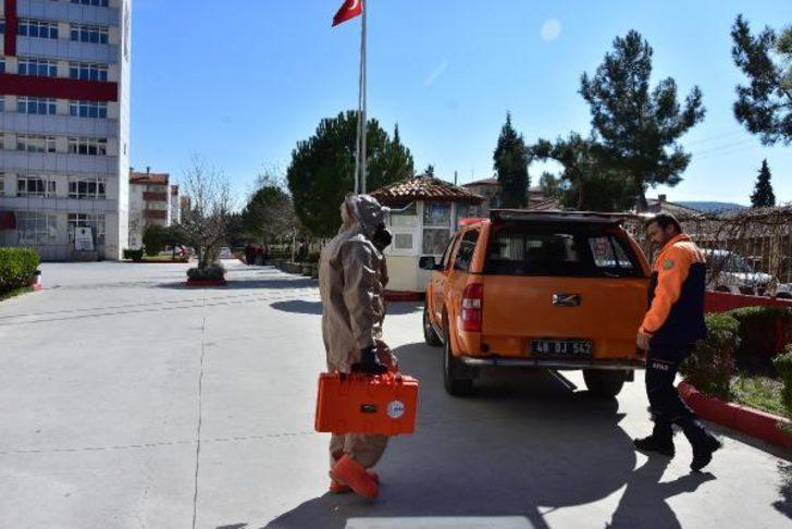 Muğla Sıtkı Koçman Üniversitesi'nde kırmızı alarm! Bina karantinaya alındı