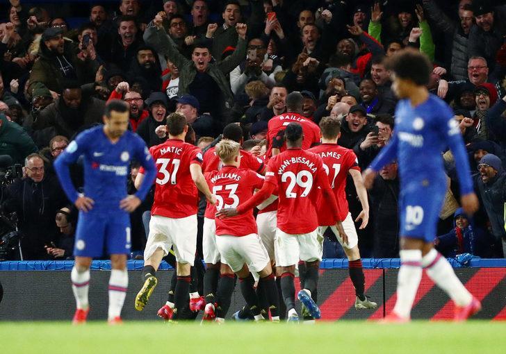 ÖZET | Chelsea-Manchester United maç sonucu: 0-2