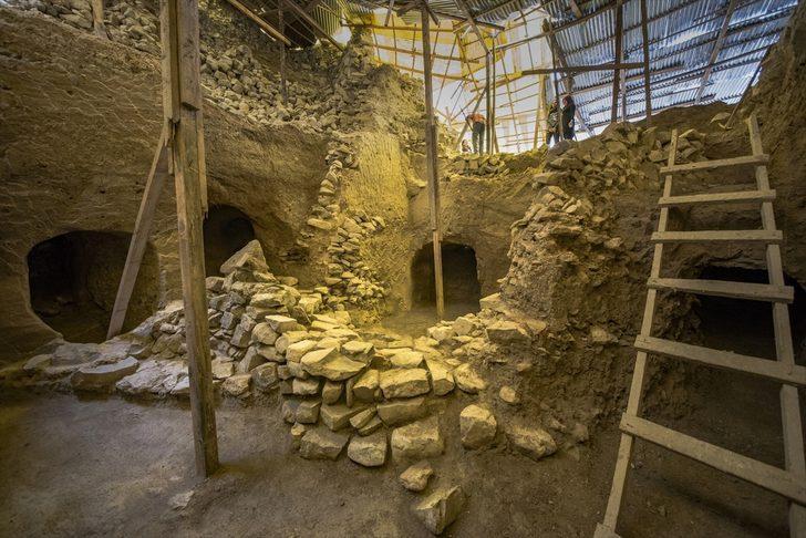 Safranbolu'daki Büyük Göztepe Tümülüsü'nde 20 antik mezar bulundu