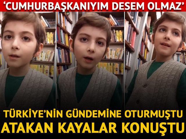 Türkiye'nin gündemine oturmuştu! Atakan Kayalar konuştu