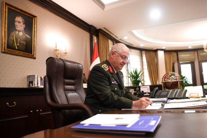 Genelkurmay Başkanı Yaşar Güler, İngiltereli mevkidaşıyla görüştü