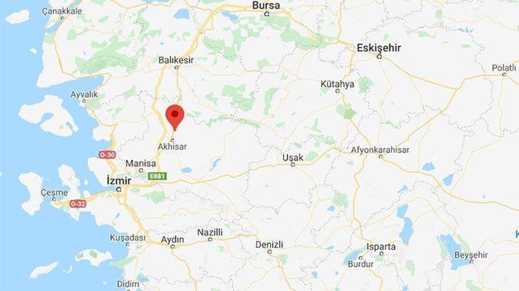 Son dakika: Manisa Akhisar'da 3.6 büyüklüğünde deprem (AFAD-Kandilli Rasathanesi Son Depremler)
