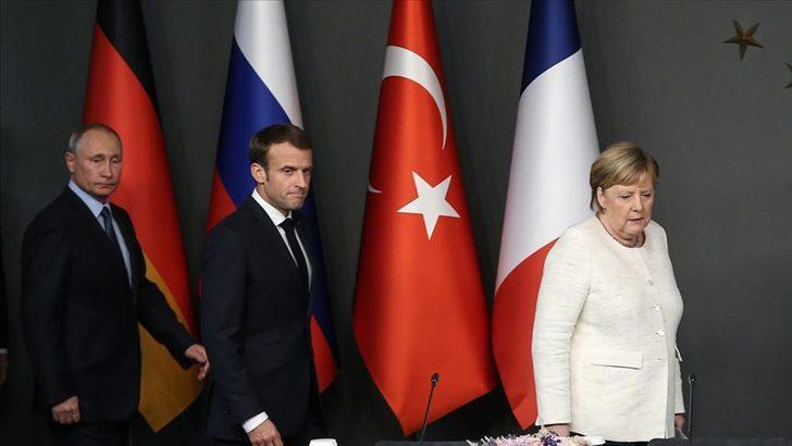 Son dakika! Merkel ve Macron'dan Rusya'ya İdlib çağrısı