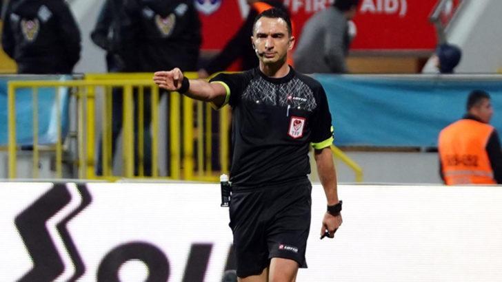 Kritik maçların hakemi Abdulkadir Bitigen