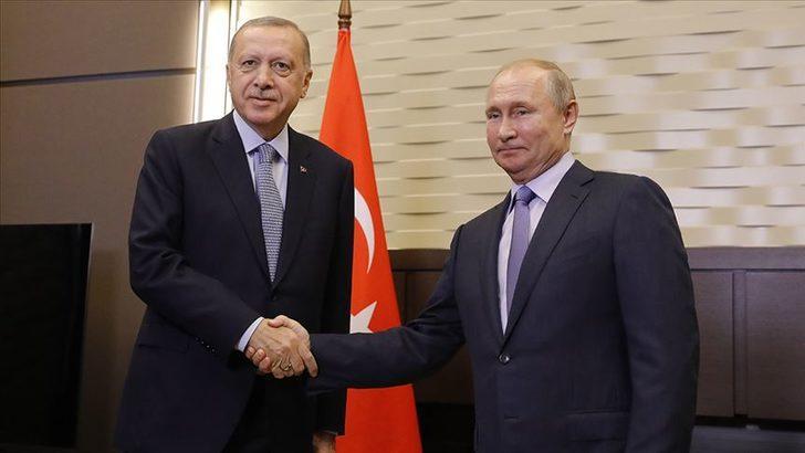 Son dakika: Cumhurbaşkanı Erdoğan ile Putin arasında kritik İdlib görüşmesi
