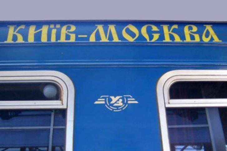 Kiev-Moskova trenine koronavirüs karantinası