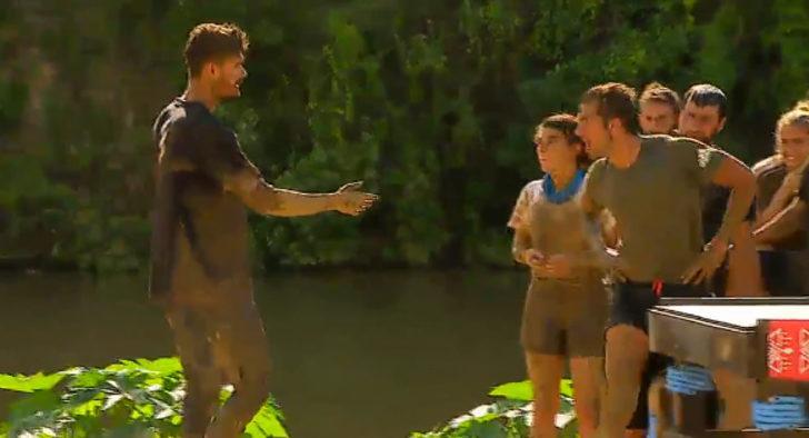 Survivor ödül oyununda gergin anlar! Cemal Can çılgına döndü! Survivor'da ödül oyununu kim kazandı?