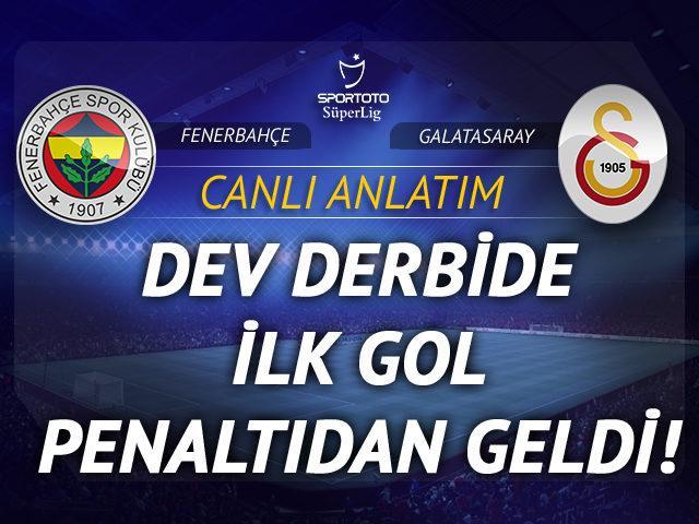 Fenerbahçe - Galatasaray | CANLI ANLATIM