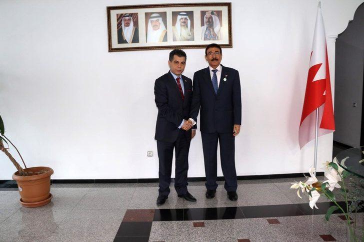 SANKON'dan Bahreyn Krallığı Büyükelçiliği'ne ziyaret