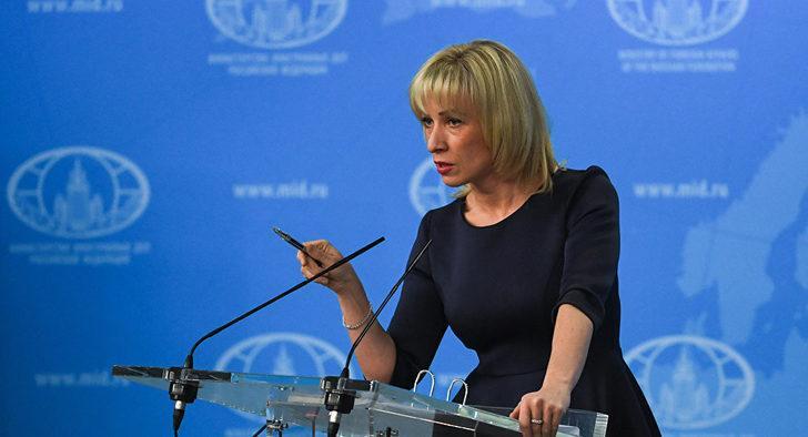 Zaharova'dan 'Gürcü gazeteciler Lavrov'a saldırmaya çalıştı' iddiası