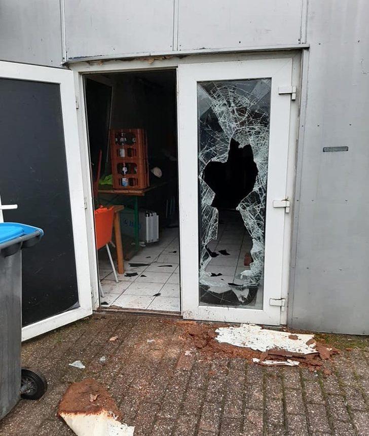 Almanya'da Türk spor kulübüne çirkin saldırı