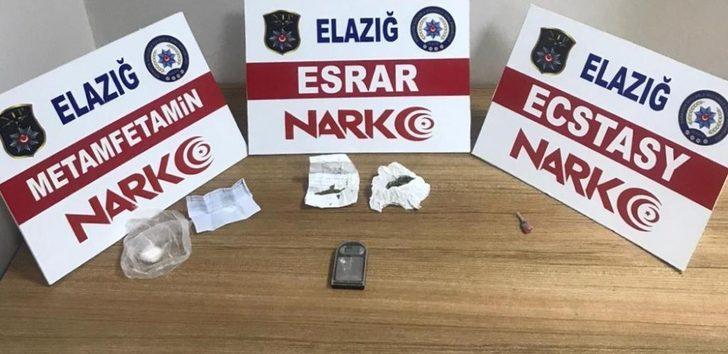 Elazığ'da uyuşturucu taciri 1 şüpheli tutuklandı