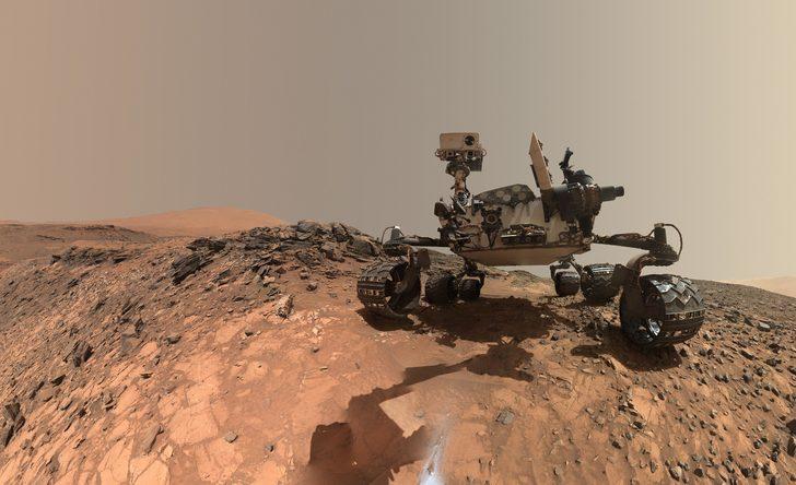 Onun da Dünya'dan farkı yok: Mars depremlerle sarsılıyor!