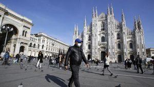 İtalya'da Corona Virüsü Vakalarında Yüzde 45 Artış