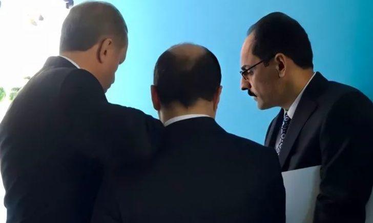 Bakan Mustafa Varank ile Cumhurbaşkanı Erdoğan'ın omuz omuza fotoğrafı gündem oldu