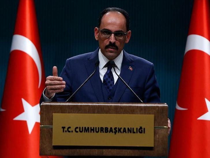 Cumhurbaşkanlığı Sözcüsü Kalın'dan kritik İdlib açıklaması!