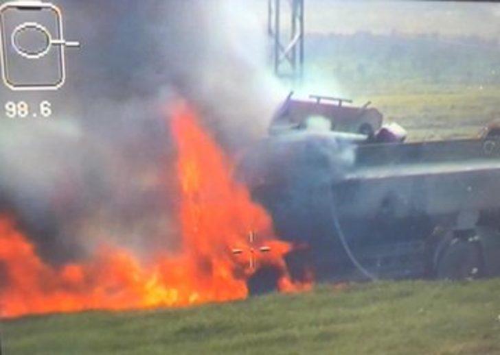 Son dakika! Milli Savunma Bakanlığı duyurdu: Bomba yüklü tanker imha edildi