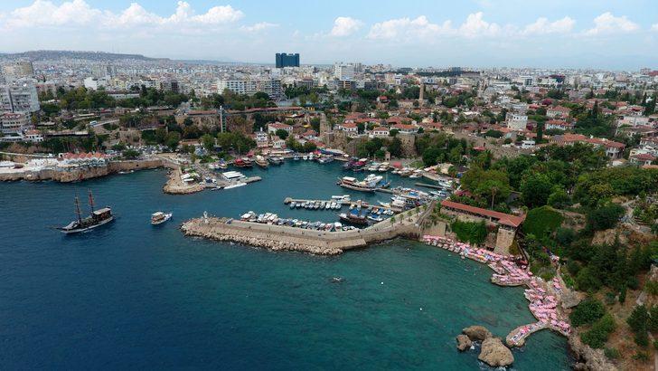 Dünya Antalya'yı internet üzerinden 24 saat canlı izleyecek