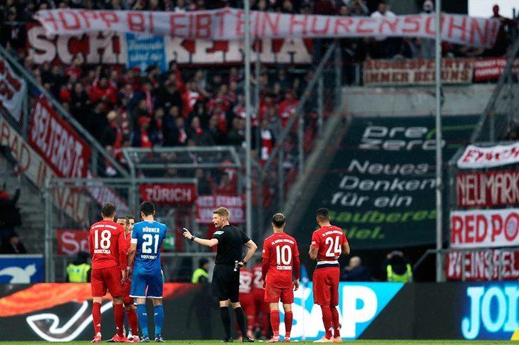 Hoffenheim - Bayern Münih maçında açılan pankartın nedeni ne?
