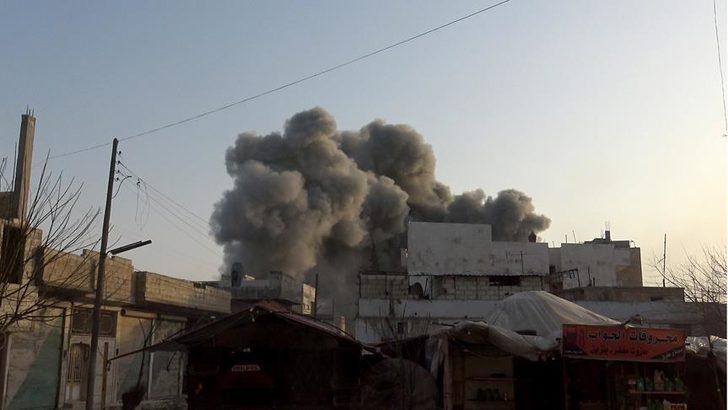 İdlib'de son dakika gelişmesi! Esed yine sivilleri vurdu