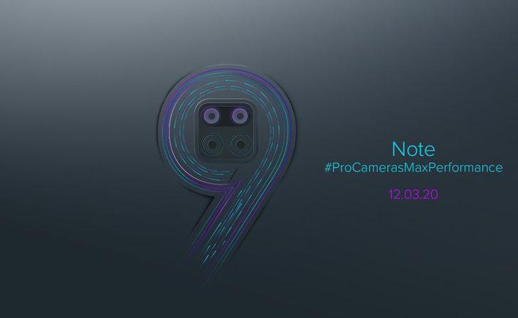 Redmi Note 9 Pro kanlı canlı görüntülendi!