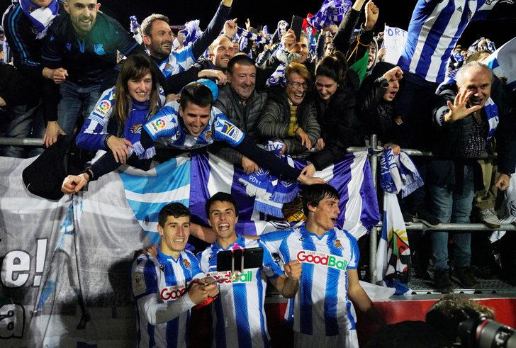 Mirandes 0-1 Real Sociedad (Maç Sonucu) İspanya Kral Kupası'nda Real Sociedad 32 yıl sonra finalde