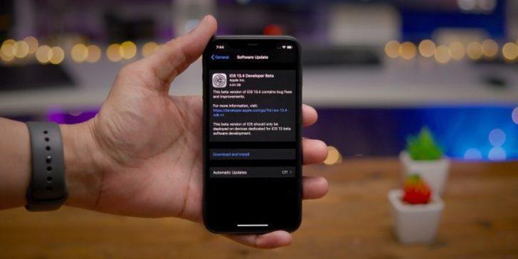 iOS 13.4 Beta 4 ne gibi yenilikler sunuyor?