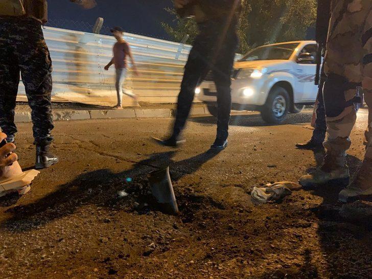Irak'ta ABD Büyükelçiliği yakınlarına roketli saldırı