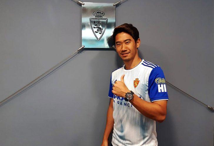 Real Zaragoza Shinji Kagawa ile yolları ayırıyor