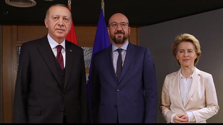 Erdoğan, Michel ve Von der Leyen görüşmesi sonrası dikkat çeken açıklamalar