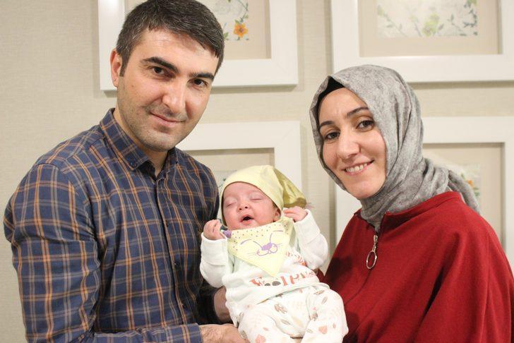 Yemek borusu doğuştan kapalıydı! 2 günlük bebek ameliyatla sağlığına kavuştu