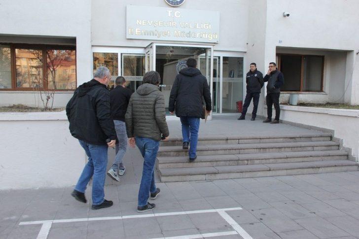 Nevşehir'de hapis cezası ile aranan 5 şüpheli yakalandı