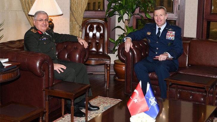 Genelkurmay Başkanı Orgeneral Güler, Orgeneral Wolters ile telefonda görüştü