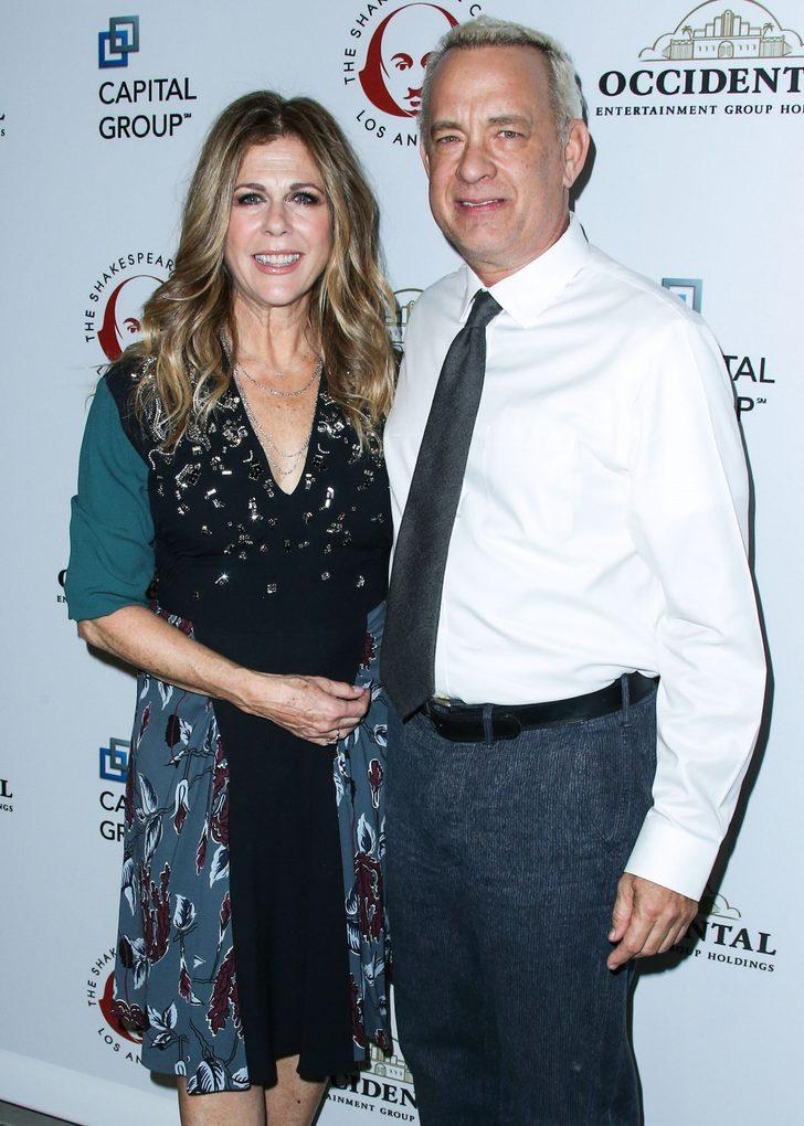 Ünlü Aktör Tom Hanks ve eşi