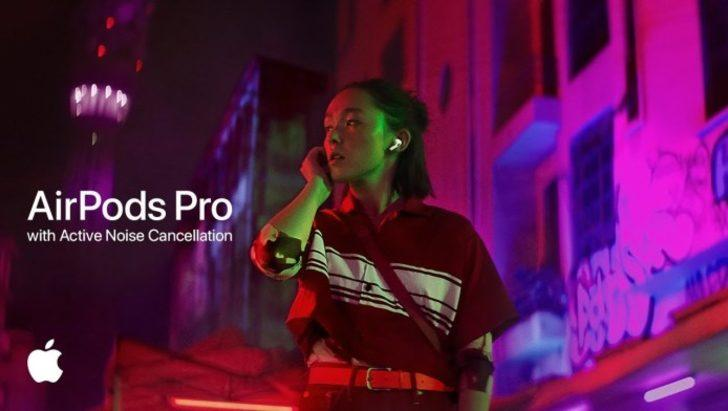 AirPods Pro yeni reklamı ile karşımızda