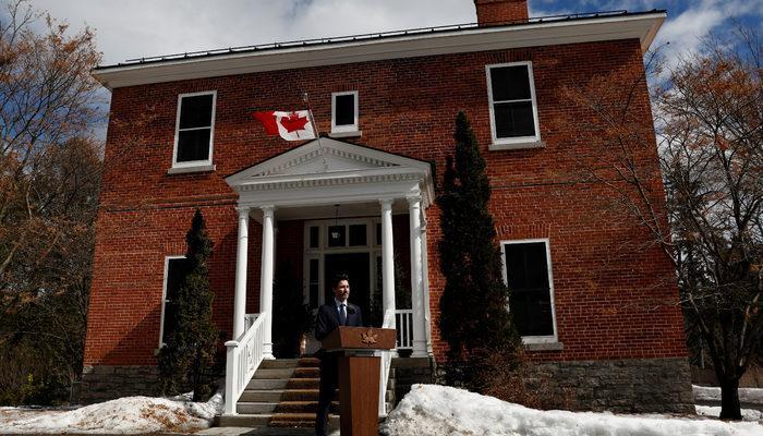 Kanada Başbakanı karantinadan halka seslendi