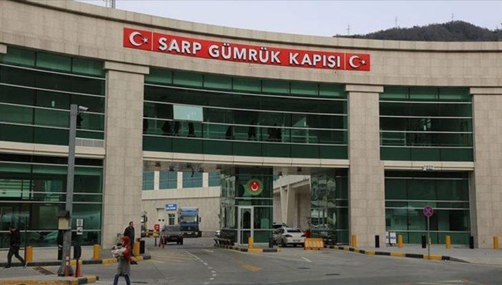 Türkiye ve Gürcistan, Sarp Sınır Kapısı'nı karşılıklı yolcu trafiğine kapatacak