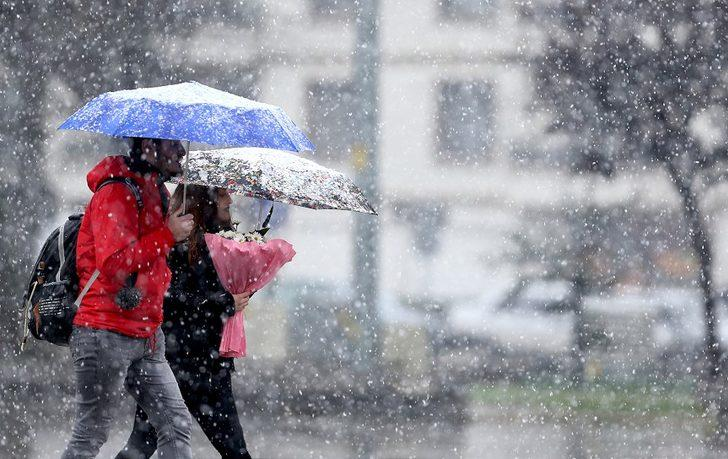 Meteoroloji'den sağanak yağış, kar ve don uyarısı