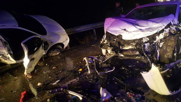Sinop'ta korkunç kaza! 4 ölü, 6 yaralı