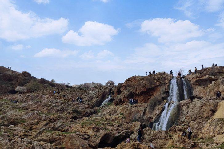 Gap Şelalesi Tabiat Parkı turist akınına uğradı