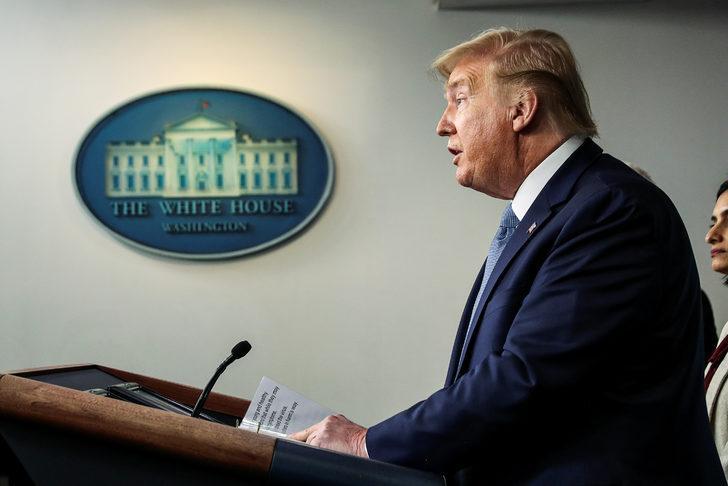Son dakika: ABD Başkanı Donald Trump'tan koronavirüs açıklaması!