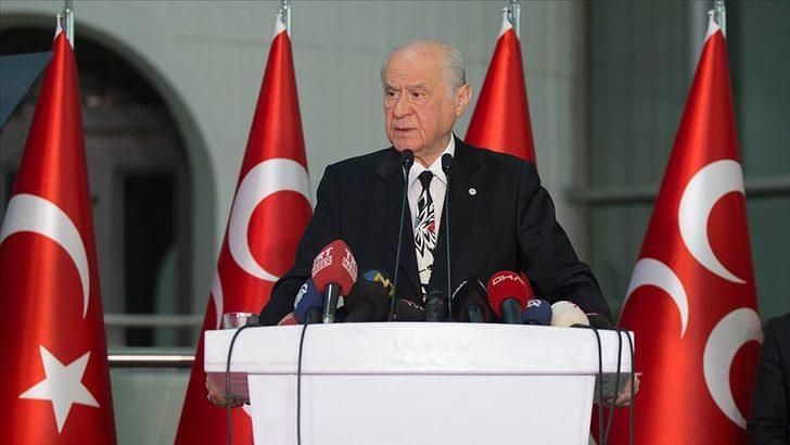 MHP lideri Devlet Bahçeli'den koronavirüs açıklaması