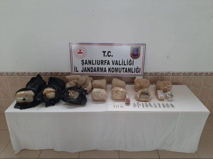 Siverek'te toprağa gömülü 97 kilogram patlayıcı bulundu